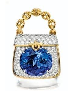 Tiffany & Co Tanzanite and Diamond Handbag