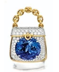 Tiffany & Co Tanzanite and Diamond Handbag