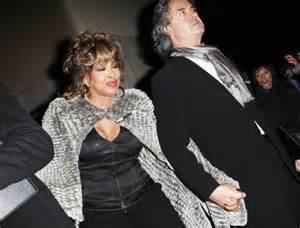 Tina Turner and new hubby Erwin