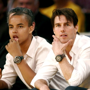 Tom Cruise and Son Connor