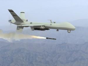 unmanned predator drone
