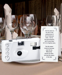 disposable wedding cameras