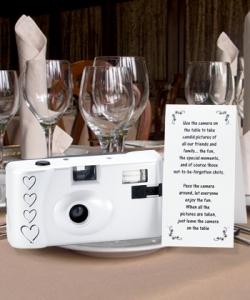 disposable wedding cameras
