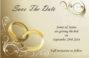 save the date by invite designs