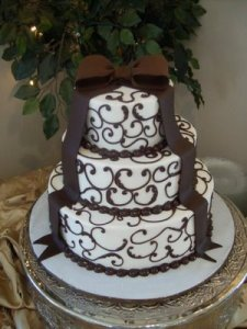 wedding cake by Lameeka of Atlanta
