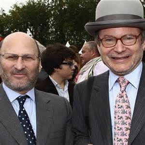Alain and Gerard Wertheimer owners of Chanel