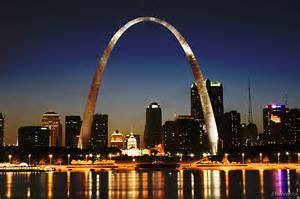 St Louis at night