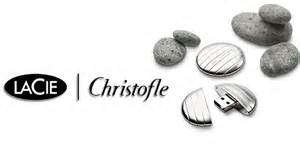 Christofle flash drive by La Cie