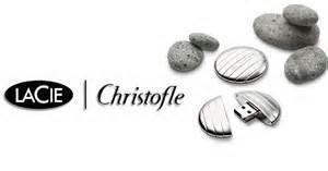 Christofle flash drive by La Cie