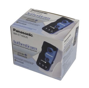 Panasonic Authenticam Iris Recognition Scanner for Computers and Laptops