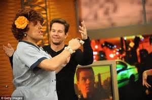 The Wahlbergs at Wahlburgers