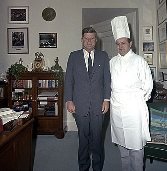 Chef Rene Verdon Kennedy White House Chef