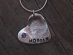 Designs by Janessa fingerprint pendant