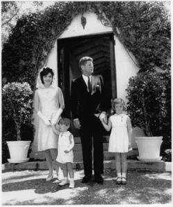 President John F Kennedy and Family
