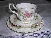 Royal Albert Rose Tea Cups