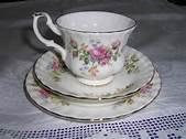 Royal Albert Rose Tea Cups