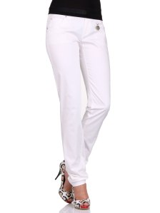 Cotton elastane womens slacks