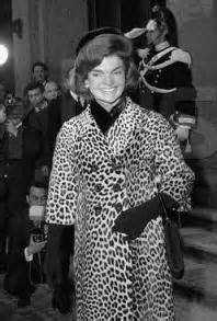 First Lady Jackie Kennedy in Oleg Cassini Coat