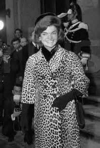 First Lady Jackie Kennedy in Oleg Cassini Coat