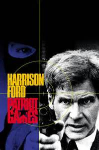 Patriot Games starring Harrison Ford