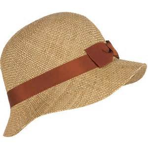 straw cloche by Akris Hat