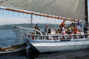 Windjammer Cruising with Captain Brenda Thomas