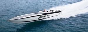mercedes benz speed boat