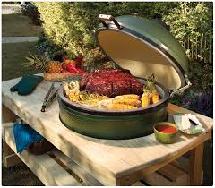 Weber Big Green Egg Grill 2014