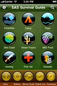 John Wisemans SAS Survival Guide cell phone app