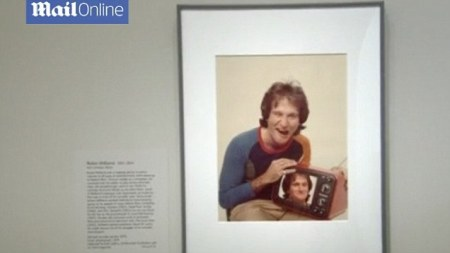National Portrait Gallery honors Robin Williams