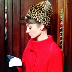Audrey Hepburn the leopard in Charade
