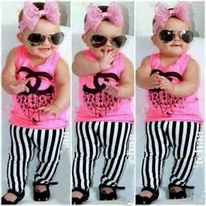 Chanel baby wear 2