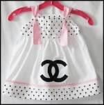 Chanel baby wear