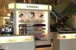 Chanel cosmetics counter