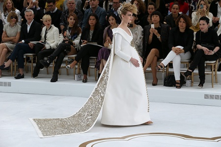 Chanel Couture Wedding Gown 1