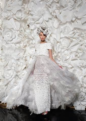 Chanel Couture Wedding Gown 2