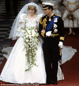 HRH Princess Diana and HRH Prince Charles
