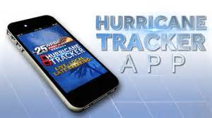 Hurrican Tracker app by the weather authority
