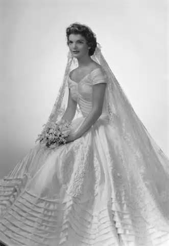 Jackie Kennedy wedding gown