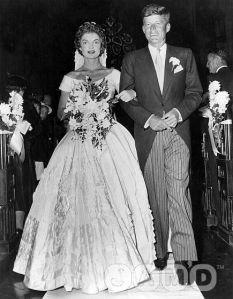 Jackie Kennedy wedding photo