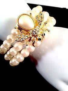 Joan Rivers pearl jewelry