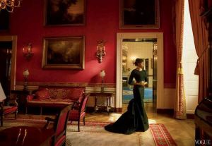 Michelle Obama by Annie Leibovitz