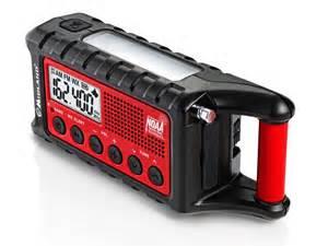 Midland Emergency Crank Weather Alert Radio