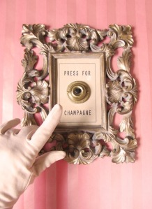 Press For Champagne by Lisa Golightly