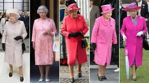 Queen Elizabeth fashions 2014