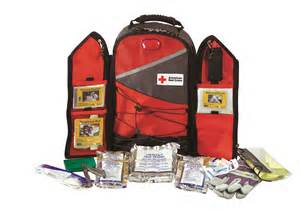 REd Cross Evac Backpack
