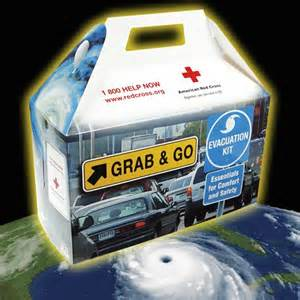 Red Cross Hurricane Evac Box