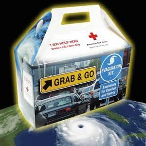 Red Cross Hurricane Evac Box