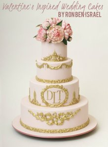 Ron Ben Israel wedding cakes