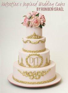 Ron Ben Israel wedding cakes